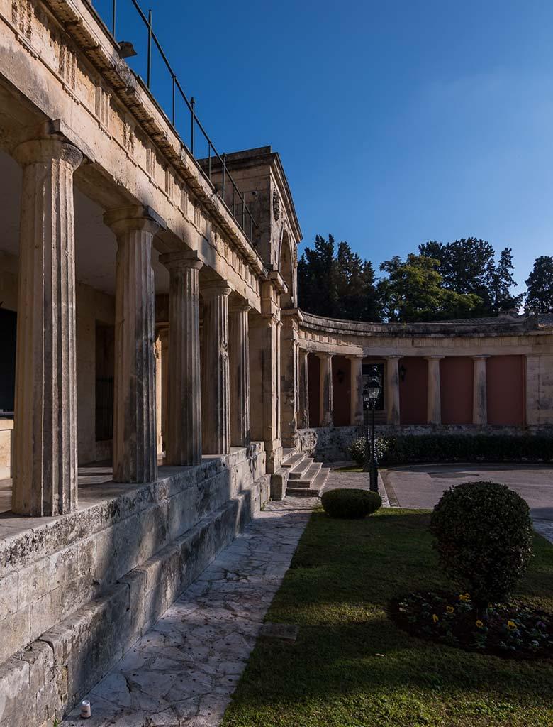 The Palace History | Museum of Asian Art Corfu